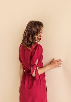 The Chloe Cherry Dress - exclusive  by myfashionfruit.com