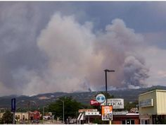 The view from North East of Colorado Springs - Sunday June 24th