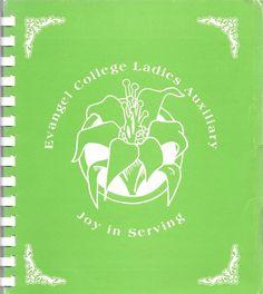 Evangel College Ladies Auxiliary Joy in Serving 1982 Spiral Bound Springfield Mo