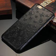 retrouvez nos Coque haut de Gamme -en-cuire-noir-iPhone-6-6S-6S-Plus-6-Plus-5-5S