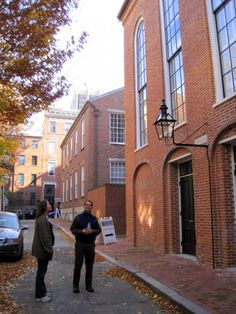 A Timeline of African-American history in Boston, MA in time for Black History Month! Pictured: Standing outside the famous African Meeting House in Boston's Beacon Hill.