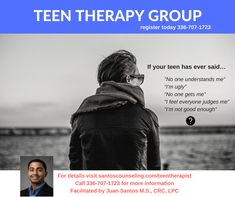 Awesome group!!! Helping TEENS manage anxiety, depression and emotional difficulties. This is the perfect group if you are looking to connect through similar experiences and gain help to overcome challenges.