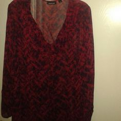 I just added this to my closet on Poshmark: AVENUE Women's 18/20, Red/Purple Blouse, Lgt Sheer. Price: $20 Size: 18/20