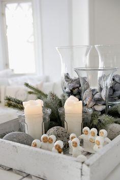 ☆ White Christmas Wonderland ☆  Norwegian Christmas decoration