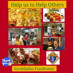 Enchiladas rolling party!! Join us this Sunday, June 26th for our big Enchilada Fundraiser...10:30am - 4:00pm at Oxnard Knights of Columbus Council Hall 750.