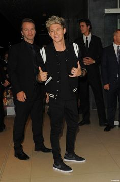 Nialler leaving the Premiere!