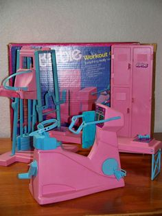 "I remember writing ""party naked!"" on the Barbie gym locker. I had no clue what i was writing. I saw it written on a locker at the pool."