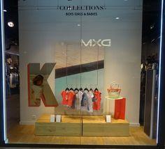 Vitrine IKKS Junior - Rennes, France #Merchandising #PLV #Window #Display / Photo: Beausoleil France www.beausoleilfrance.com
