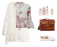 """""""spring"""" by candynena228 ❤ liked on Polyvore featuring Vans, Giambattista Valli, Yves Saint Laurent, ADRIANA DEGREAS, Kate Spade and philosophy"""