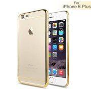 TOP-Shop | Ein Angebot von Comebuy Online Shop Zwei Trenn Streifen Chrome Galvanische Hülle für iPhone 6 Plus - GoldIhr QuickBerater