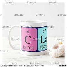 Drew periodic table name mug periodic table urtaz Choice Image