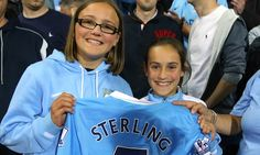 Manchester City attacker Raheem Sterling becomes fans' favourite #DailyMail