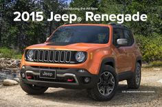 Jeep Renegade consumer page