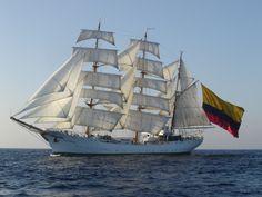 Buque Gloria, el embajador de Colombia que surca los mares
