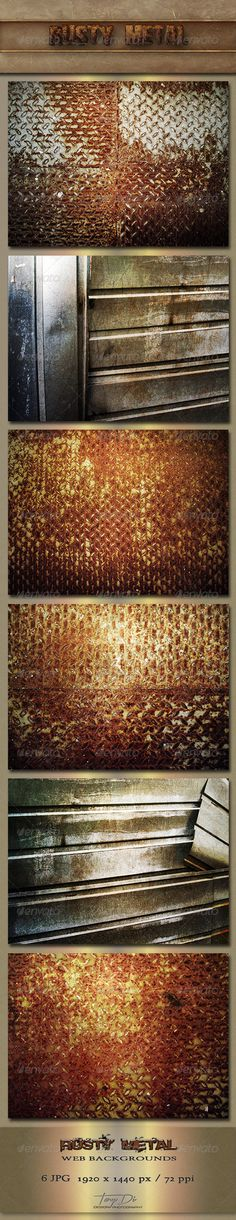 Rusty Metal Backgrounds