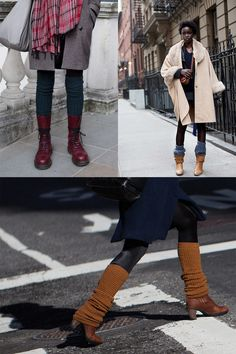ce6175e1b8f5f Legwarmers « The Sartorialist --- i would really love to try this last  picture in the collage, leg warmers over tights with a skirt, what do you  think?