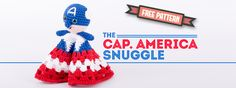 Every parent should encourage the fantasy and believes of superheroes to children. That's why this Captain America snuggle is so cool for every little kid. More superhero snuggles will follow soon....