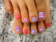 Easter Toe Nail Art Designs Fingernail Toenail Pedicure