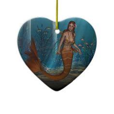 #Mermaid #Ornaments