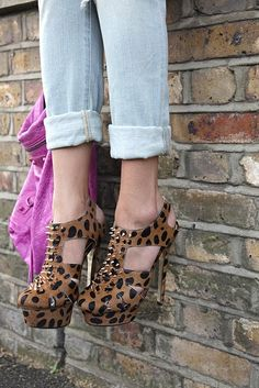 Spikes and Leopard .. these are a few of my favorite things