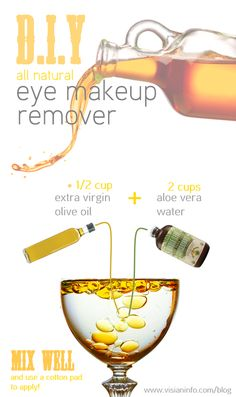 This home remedy is perfect for not only treating your skin around your eyes in the gentlest of ways, but also to rehydrate and soften it.