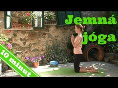 Jemná jóga pro začátečníky - VIDEO Jak se to dělá.cz Personal Fitness, You Fitness, Health Fitness, Pilates, Fitness Inspiration, Healthy Life, Relax, Exercise, Yoga