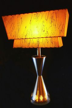 This is called an Atomic lamp from the Sputnik era... love the Jetson feel!