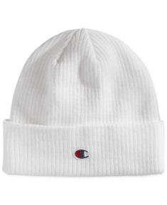 050cb49d07e Champion Men s Cuffed Beanie - White Hats For Men