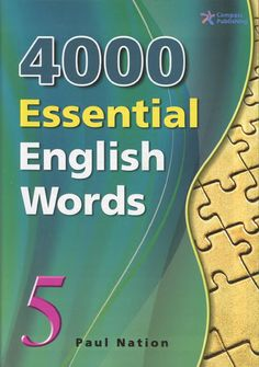 4000 Essential English Words is a six-book series that is designed to focus on practical high-frequency words to enhance the vocabulary of learners from high beginning to advance levels. The series presents a variety of words that cover a large percentage of the words that can be found in many spoken or written texts. Thus, after mastering these target words, learners will be able to fully understand vocabulary items when they encounter them in written and spoken form. Each unit presents 20…