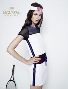 Monreal London Stefanï Grosse Design Website LePetitMax Tennis Fashion