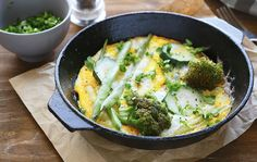 What Nutritionists Eat When They Want to Slim Down: Eggs and Vegetable Skillet