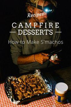 How to Make Campfire S'machos!! #NationalSmoresDay