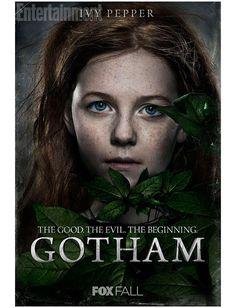 Nuevos posters oficiales de Gotham... ¿Quieres conocer los orígenes de Hiedra Venenosa?