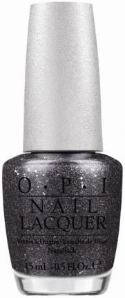 Obsidian, like this new OPI Designer Series Pewter, is the hottest color polish for fall, according to HuffPost.
