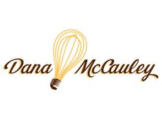 normally don't like script font in a logo, but it works really well here - I like the light bulb/whisk thing...