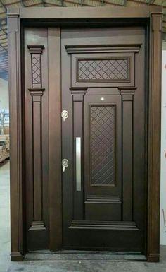 Wooden doors from Wood Space Crafts Wooden doors from Wood Space Crafts Wooden Front Door Design, Double Door Design, Wood Front Doors, Home Door Design, Door Gate Design, Door Design Interior, Craftsman Interior Doors, Exterior Doors, Modern Wooden Doors