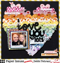 Debbi made this fabulous page with bits and scraps from her stash — paper, puffy stickers, enamel dots and phrase stickers. Baby Boy Scrapbook, Scrapbook Cards, Scrapbook Layout Sketches, Scrapbooking Layouts, Rainbow Pages, Candy Cards, Crafty Craft, So Little Time, Paper Crafts