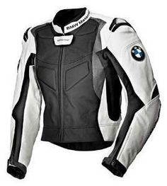 BMW GENUINE LEATHER MOTORCYCLE MOTORRAD START JACKET, BIKER LEATHER JACKETS