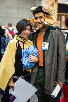Alana and Marko from Saga, by Miki and Dion Chang | SDCC 2013 #Cosplay