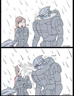 Mass Effect,фэндомы,Игры,песочница,Смешные комиксы,веб-комиксы с юмором и их переводы,ME комиксы,Garrus,Femshep