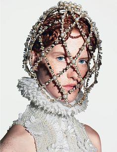 "PREVIEW | ""Virgin McQueen"" by Richard Burbridge. For Dazed & Confused November 2013"