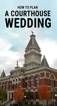 How to Plan a Courthouse Wedding – OddlyForever