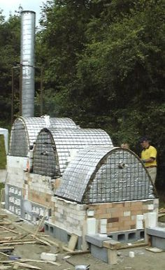 International Ceramics Festival 03 – Wales – 3 chamber propane & wood fired stoneware by Joe Finch