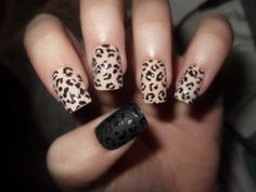 107 Animal Print Nails Art Leopard