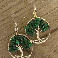 Tree Of Life Earrings 002 Help Meg Beat Breast Cancer $35