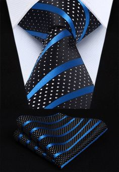 Are you a man of luxury? Introducing our Blue Sky Tie Set. tHand Made tSilk tIncludes: Tie and Pocket Square tWidth: Extra Long Ties, Tie And Pocket Square, Pocket Squares, Tie Set, Suit And Tie, Well Dressed Men, Mens Clothing Styles, Clothing Accessories, Men's Clothing