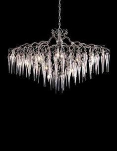HOLLYWOD ICICLES modern pendant light by Brand van Egmond. See all our contemporary lighting collections at WWW.COM or get in touch for custom lighting requests or interior design lighting requests.