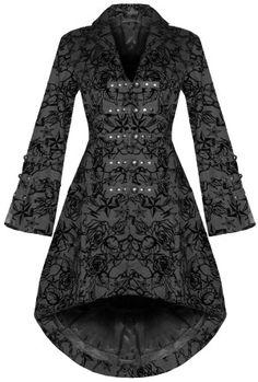 Alcina Flocked Coat