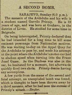 First World War centenary: the assassination of Franz Ferdinand, as it happened - Telegraph