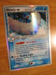 Holo Rare EX Pokemon! EN! Altaria EX Dragon Frontiers 90//101 Near Mint